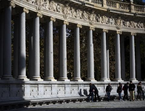 El monumento a Alfonso XII en el Retiro