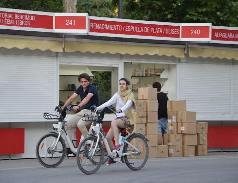 La Feria del Libro de Madrid 2015