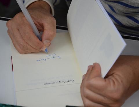 Héctor Abad Faciolince en la Feria del Libro de Madrid 2015