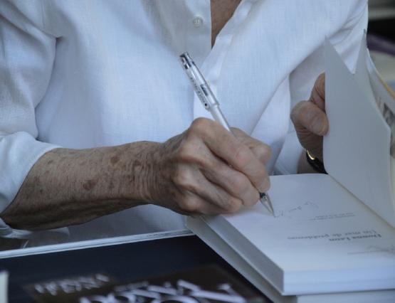 Las firmas de la Feria del Libro