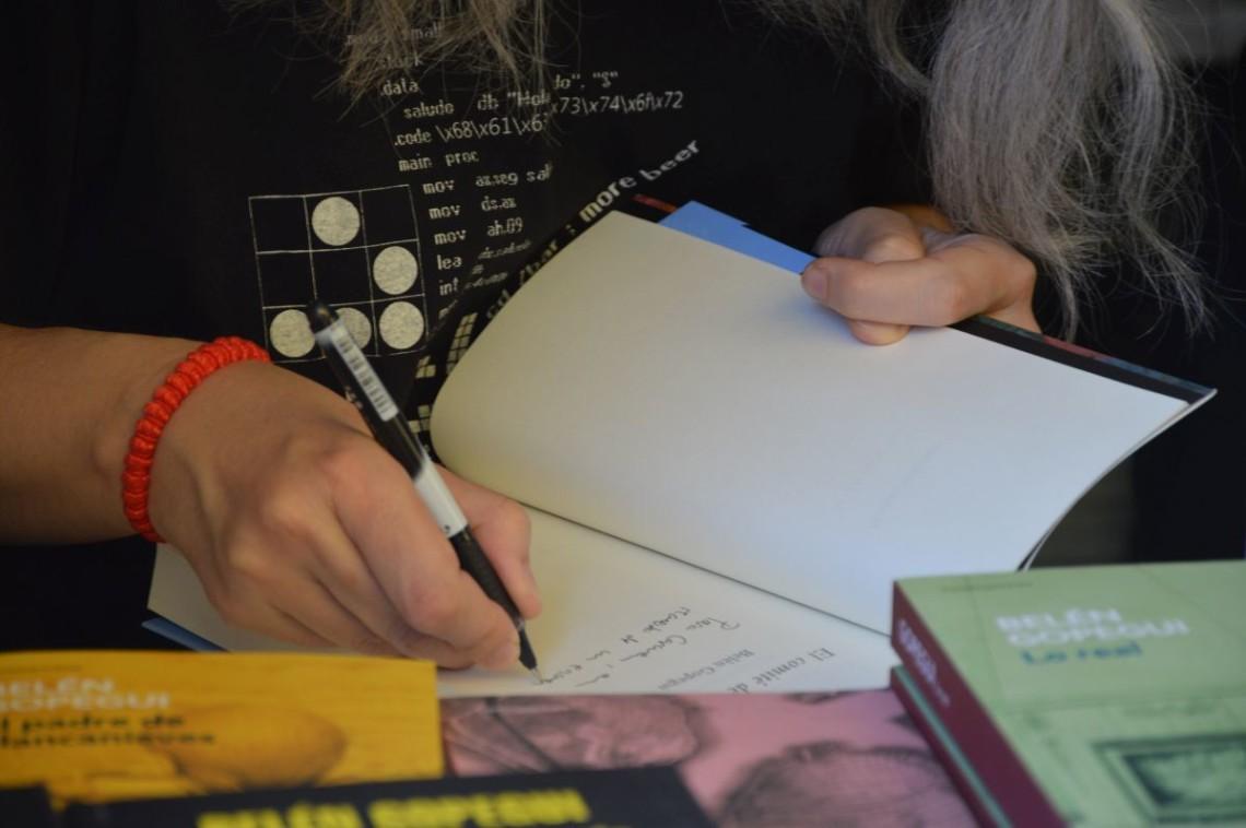Firmas en la Feria del Libro