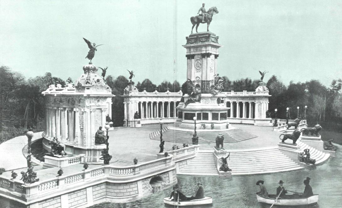 Maqueta del Monumento a Alfonso XII de José Grasés Riera, La Esfera de 1914