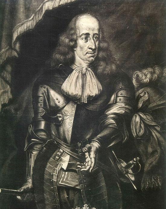 Retrato de Gaspar de Haro (Biblioteca Nacional de España, 1660) Grabado de Arnold Van Westerhout